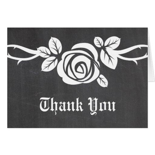 La pizarra color de rosa de marfil le agradece car felicitacion