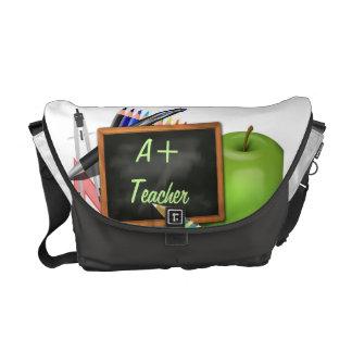 La pizarra del profesor personalizado bolsas de mensajería