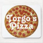 La pizza de Torgo Alfombrillas De Ratones