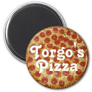 La pizza de Torgo Imán Redondo 5 Cm