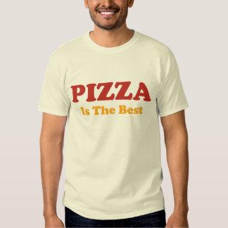 La pizza es la mejor camiseta remera