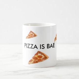 La pizza es taza de Bae de la pizza de