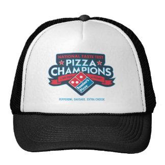La pizza nacional defiende el gorra del camionero