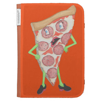 La pizza Portia enciende la caja en folio