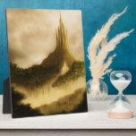 la placa de la foto del paisaje de la fantasía del