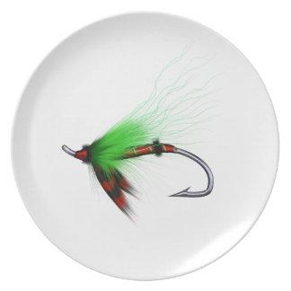 la placa de los flyfisher, 02 plato para fiesta