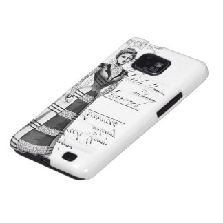 La placa de moda del Victorian Samsung Galaxy S2 Carcasas