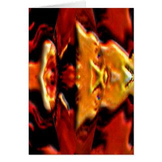 La placa de oro n del alcohol flamea - Reiki que Tarjeta De Felicitación