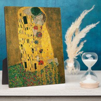 La placa del beso (Klimt)