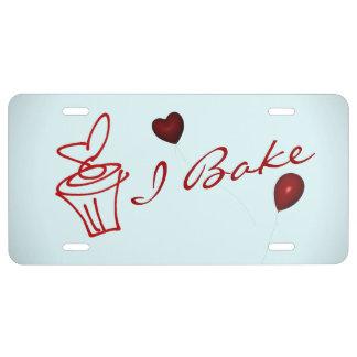 La placa del panadero