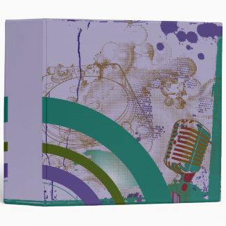 la placa giratoria del mic del vintage colorea el