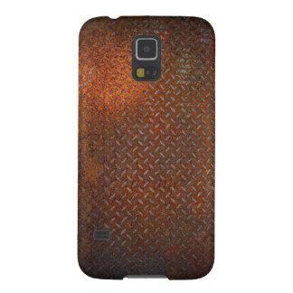 La placa oxidada Samsung del control encajona S5 Fundas Para Galaxy S5