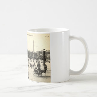La Place Castellane, Marseille France 1910 Vintage Coffee Mug