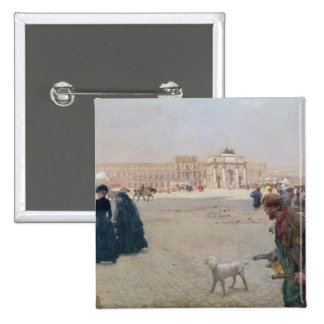 La Place du Carrousel, Paris Pinback Button