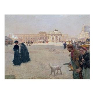 La Place du Carrousel, París Tarjeta Postal
