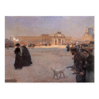 La Place du Carrousel, Paris: The Ruins Postcard