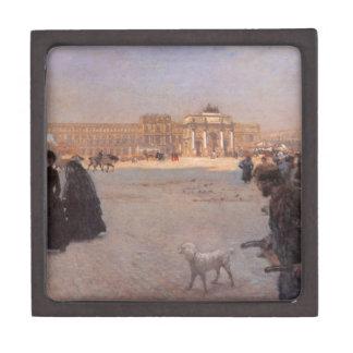 La Place du Carrousel, Paris: The Ruins Premium Keepsake Box
