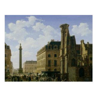 La Place Vendome, 1808 Postcard