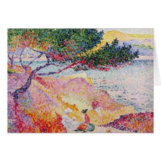 La Plage de Saint-Clair, 1906-07 Card