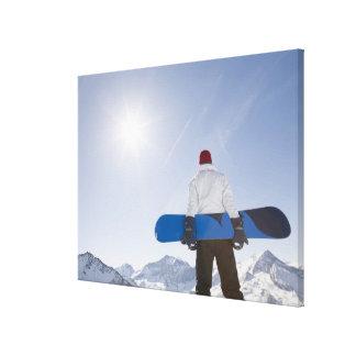 La Plagne, French Alps, France Canvas Print
