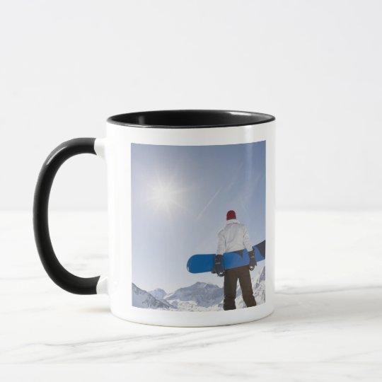 La Plagne, French Alps, France Mug
