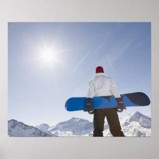 La Plagne, French Alps, France Poster