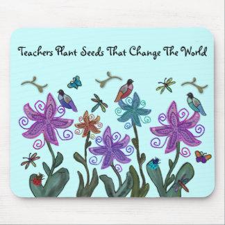 La planta de los profesores siembra Mousepad