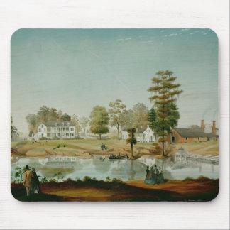 La plantación de Olivier, 1861 Mousepads
