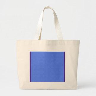 La plantilla azul en blanco DIY de la textura Bolsa Tela Grande