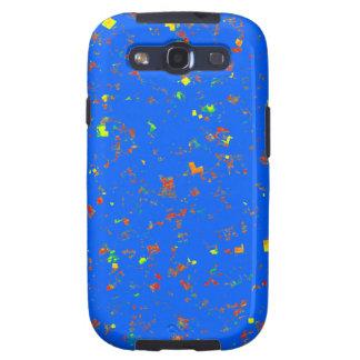 La plantilla azul ideal de Goodluck añade la Galaxy S3 Fundas