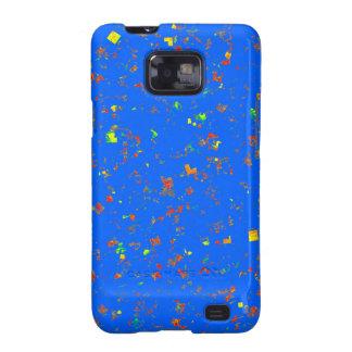 La plantilla azul ideal de Goodluck añade la Samsung Galaxy S2 Carcasa