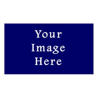 La plantilla azul más oscura de Jánuca Chanukah Ha Tarjetas De Visita