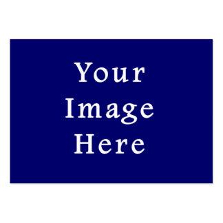 La plantilla azul más oscura de Jánuca Chanukah Ha Tarjetas De Visita Grandes