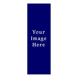 La plantilla azul más oscura de Jánuca Chanukah Ha Tarjetas De Visita Mini