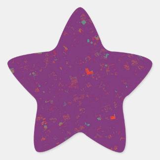 La PLANTILLA coloreó fácil AÑADIR los regalos del Pegatina En Forma De Estrella
