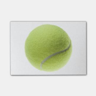 La plantilla de la pelota de tenis se divierte notas post-it®