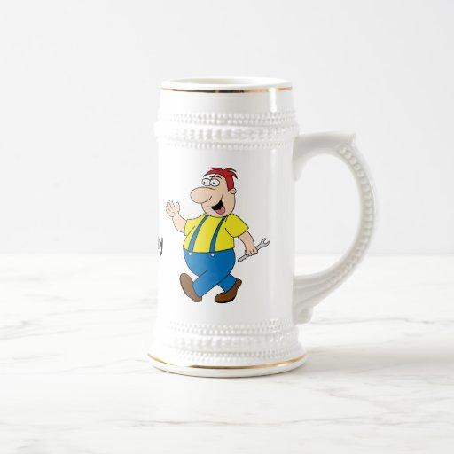 La plantilla de la taza de Boss Stein
