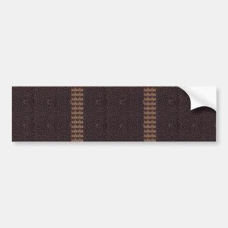 La plantilla de la textura de la tela añade la pegatina para auto