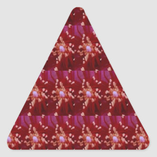 La plantilla de vuelta DIY del sorteo de los Calcomanía Triangulo Personalizadas