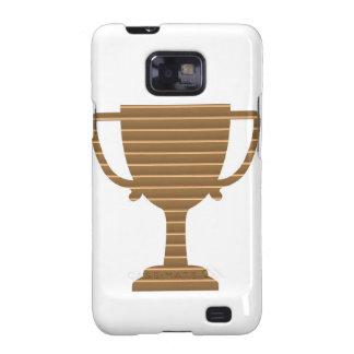 La PLANTILLA del trofeo del oro del ganador añade Galaxy SII Carcasas