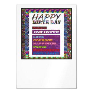 La plantilla DIY de los saludos del feliz Invitaciones Magnéticas