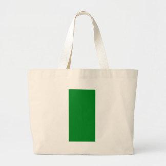 La plantilla en blanco llana del verde DIY añade Bolsa Tela Grande