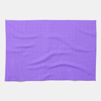La plantilla en blanco púrpura DIY de la textura Toallas De Mano