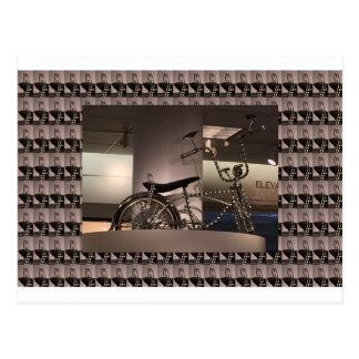 La plantilla gráfica del deco del arte de la tarjeta postal