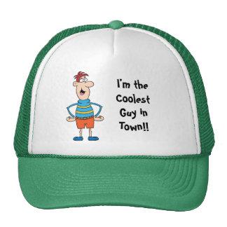 La plantilla más fresca de la gorra de béisbol del