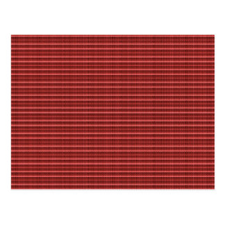 La plantilla roja DIY de la textura de la malla de Postal