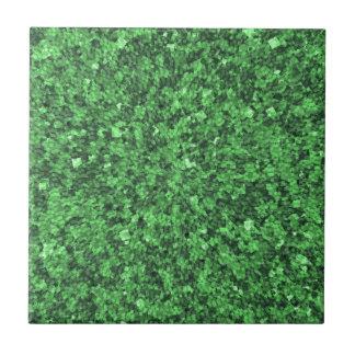 La plantilla verde de las causas del ambiente azulejos