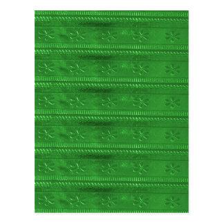 La plantilla verde DIY de los SORTEOS del fiesta Tarjeta Postal