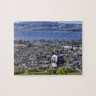 La plantilla vio el rompecabezas - Rotorua, Nueva
