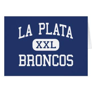 La Plata Broncos Middle Silver City Cards